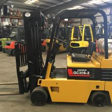 Cushion Tire Forklifts   Industrial Liquidators - Atlanta Area